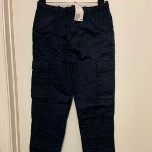 Blue cargo pants